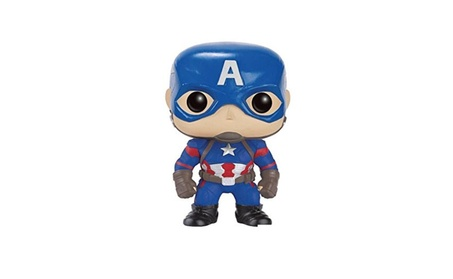 Funko POP Marvel: Captain America 3: Civil War Action Figure - Captain 1c0eac5e-e239-4542-a4b7-15d02afc3525