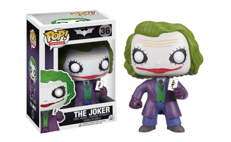 The Joker: Funko POP! x The Dark Knight Trilogy Vinyl Figure - purple c9d47712-4dc8-48eb-a2d3-ff8b97e21373