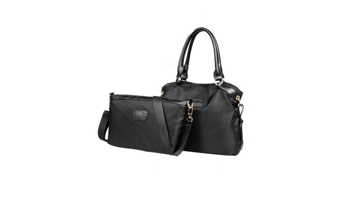 DPN Women's Zippered Top Handles Travelling Bag