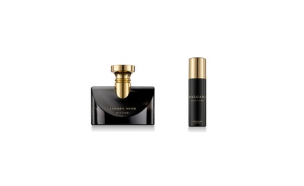 Bvlgari Jasmin Noir 3.4 oz. Eau De Parfum -6.8 oz Body Lotion The Essence Of a Jeweller Gift Set