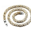 Silver/Gold Rock Punk Style Chain Necklace for Men
