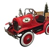 Dexton Kid's Christmas Tree Delivery Truck, Red