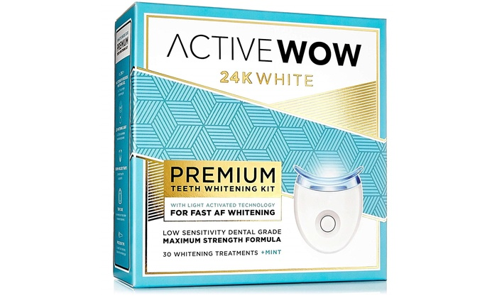 Up To 43 Off On Active Wow Teeth Whitening Kit Groupon Goods