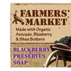 Farmers' Market Natural Bar Soap Blackberry Preserves - 5.5 OZ