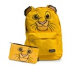 Disney Simba Lion King Nylon Backpack and Pencil Case Set by Loungefly