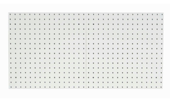 2 24x24x9 16 tan locboard pegboards groupon. Black Bedroom Furniture Sets. Home Design Ideas