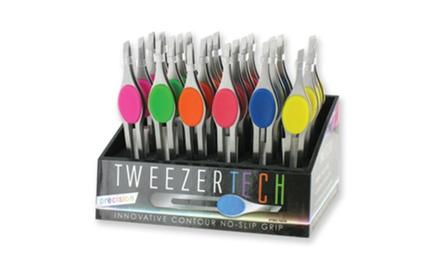 Precision No-Slip Tweezers - 3 Pack