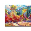David Lloyd Glover The Colors of New Hampshire Canvas Print