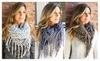 Riah Fashion: Chunky Knit Scarf - 5 Colors!