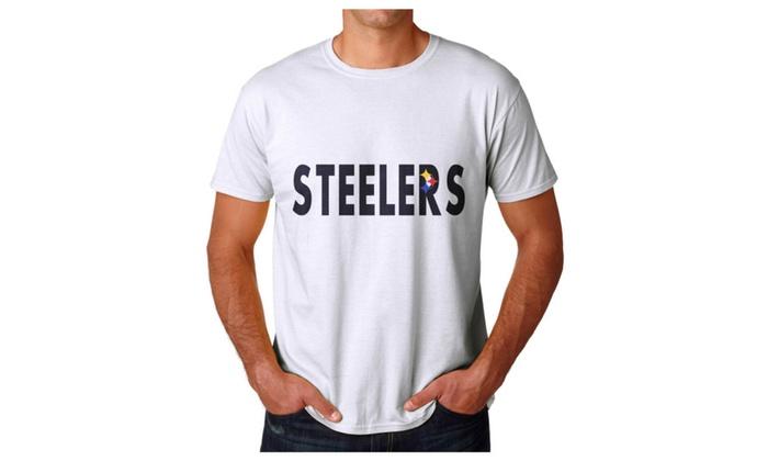 Steelers Men's White T-shirt