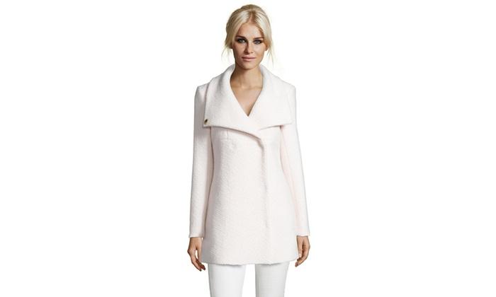 Catherine Catherine Malandrino Wool Blend Coat
