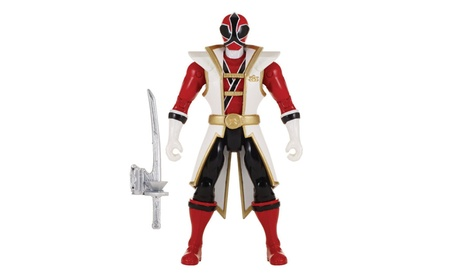 "Power Rangers Super Megaforce - 5"" Super Samurai Red Ranger Action Her f96691dd-d6ef-41bf-9b43-536d3d3dbd38"