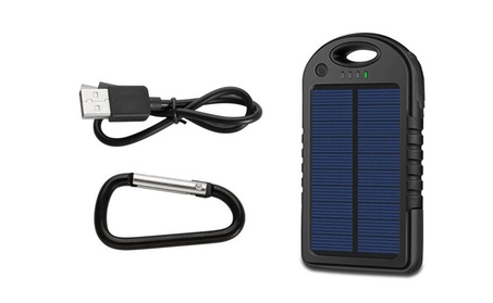 Solar Powered Strong Shockproof and Drop Resistance Power Bank 1bda9f63-484c-4d89-91ff-b7bdf3fdd233