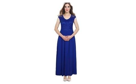 Women Long Length Wedding, Party Dress - ZWWD112-ZWWD114-ZWWD117 (Goods Women's Fashion Clothing Dresses Special Occasion) photo