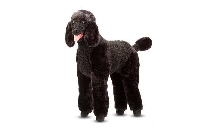 Melissa Doug Standard Poodle Plush 4861 Groupon