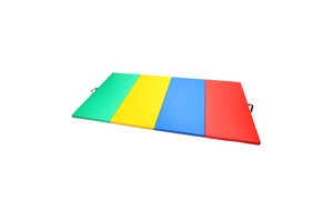 Magshion Gymnastics Gym Folding Exercise Mat Tumbling Aerobics