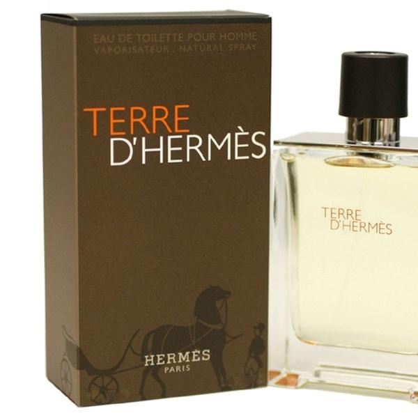 dde9b6647f Terre D' Hermes For Men By Hermes Eau De Toilette Spray 6.7 oz | Groupon