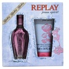 Replay Replay Jeans Spirit 0.67oz EDT Spray, 1.6oz Shower Gel