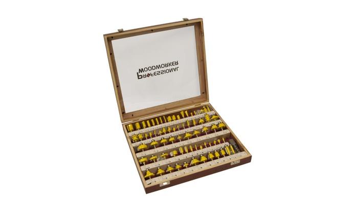 Professional Woodworker 75 Piece Router Bit Set