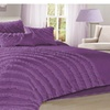 7 Piece Hillary Bed in a Bag Ruffled Comforter Sets-Queen