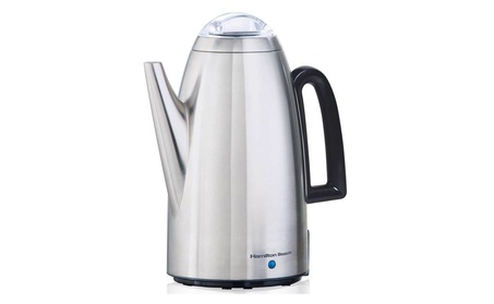 Hamilton Beach Brands 40614 Coffee Percolator, Stainless Steel, 12-Cup 1b1f1a66-d379-4308-af80-f54cf1f38533