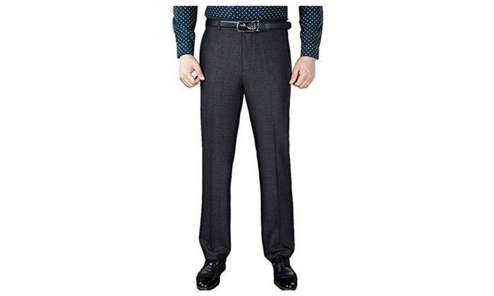 Men's  Suit Pants Tailored Trousers