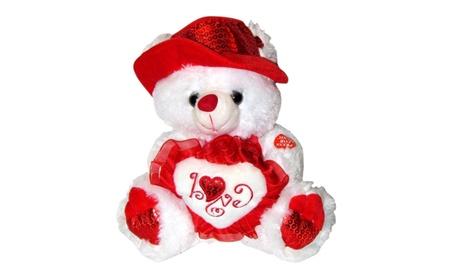 Musical I Love You Teddy Bear 13 Inches tall You hear Kissing Sound 3d4183b3-7f5f-47f9-a134-52350d5a1811