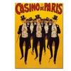 'Casino de Paris' Canvas Rolled Art