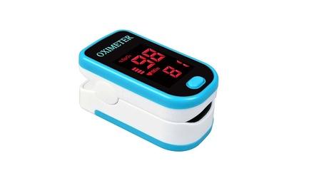 Finger Pulse Oximeter Blood Oxygen Saturation SpO2 Monitor