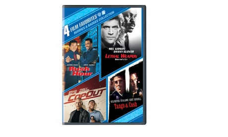 4 Film Favorites: Buddies and Badges Collection (DVD) 356476a5-9ca2-4bcb-a097-4fd8c2c734eb