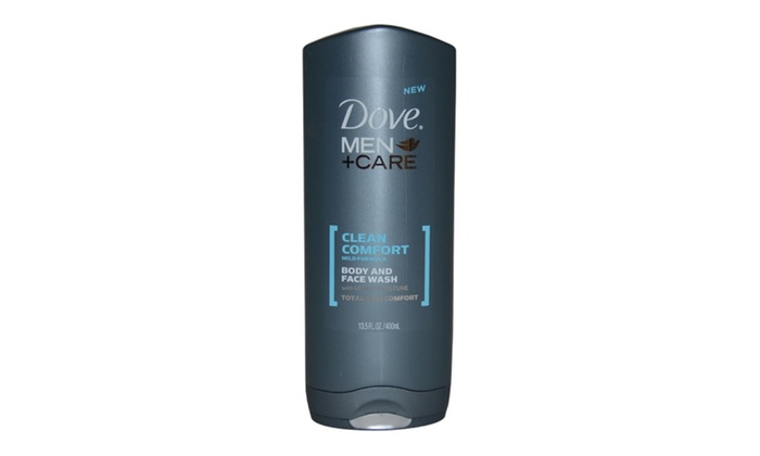 Dove Clean Comfort Body And Face Wash Men 13 5 Oz Body Wash Groupon