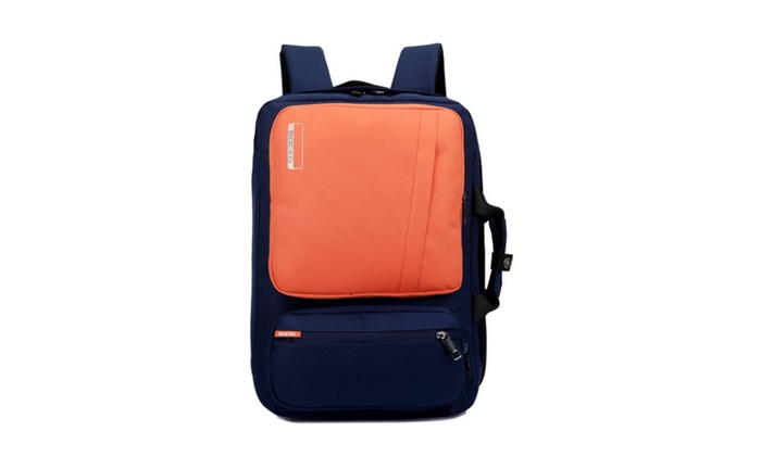 Unisex 17 Inch Laptop Backpack with Side Handle and Shoulder Strap