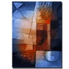 Abstract in Blue by Adam Kadmos-18x24  Canvas Print 18 x 24