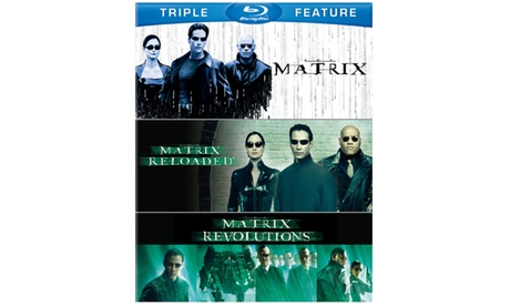 Matrix, The / Matrix Reloaded / Matrix Revolutions (BD) (3FF) 40bf018e-3052-4fbf-a6ff-36d77b8c86a8