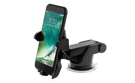 Easy One Touch Car Mount Universal Phone Holder For Any Phone c35e2749-79d7-4610-ae89-dcc436b805a5