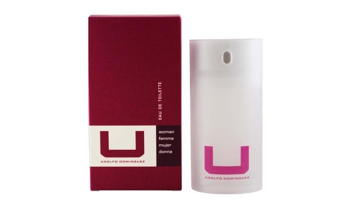 U adolfo dominguez for women eau de toilette spray 2 5 oz for Adolfo dominguez u woman