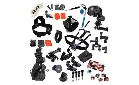 Dazzne 45in1 Camera Accessories Kits For GoPro Hero 1 2 3 3+ 4 Camera 772fd0fb-d8eb-4cb4-a882-2ad96c08303e
