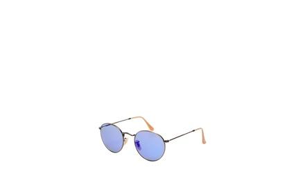 RAY-BAN 50mm Round Aviator Sunglasses