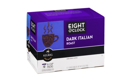 Eight O'Clock Dark Italian Roast K-Cups (72 count)