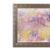 Monet 'Flower Impressions' Ornate Framed Art