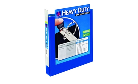 Avery Heavy-Duty View Binder with 1-Inch One Touch EZD Rings, 1 Binder (79720)