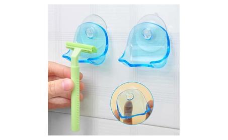 Plastic Vacuum Wall Mount Shower Razor Stand cd90a1a8-6042-40a3-a48d-d6ea791cdae7