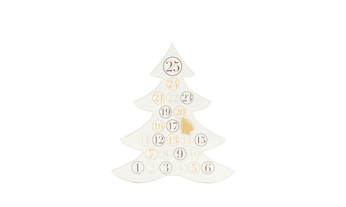 K K INTERIORS Christmas Tree Hanging Calendar