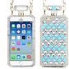 Insten Perfume Bottle Hard 3D Case Chain w iPhone 6Blue/White