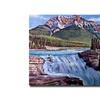 David Lloyd Glover Thundering River Canvas Print