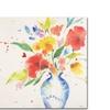 Sheila Golden Vibrant Bouquet Canvas Print