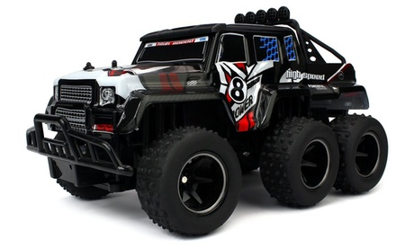 Velocity Toys Speed Wagon 6X6 RC 2.4 GHz System 1:10 (Colors May Vary) 4e2fd6ab-372b-4fca-8182-33ce2fac1870
