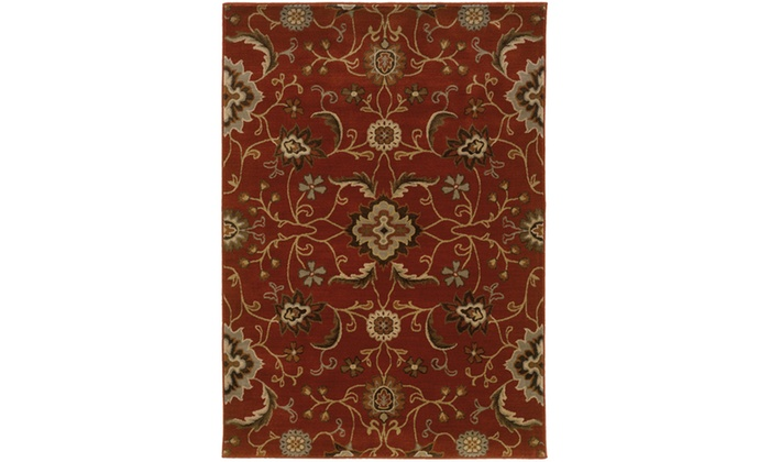 Up To 65 Off On Monarch Morocco Red Multi Fl