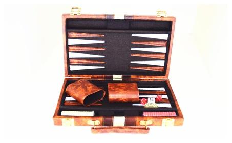"""18"""" Classic Backgammon Board Game Set 268d2ea9-e497-4ec1-92f3-681e0e48ece1"""