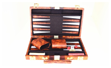"11"" Classic Backgammon Board Game Set 8112f44f-fea5-46f4-abac-41ff531f0efd"